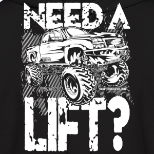 Truck Need a Lift Hoodies - Men's Hoodie