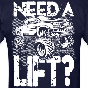 Truck Need a Lift T-Shirts - Men's T-Shirt