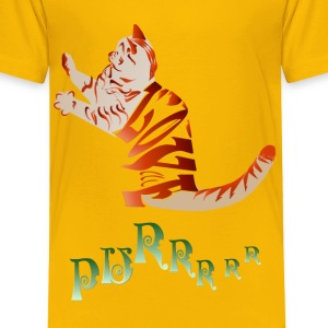 LOVE CAT-Purrrrr - Toddler Premium T-Shirt