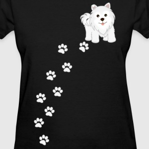 Samoyed Puppy Dog - Women's T-Shirt