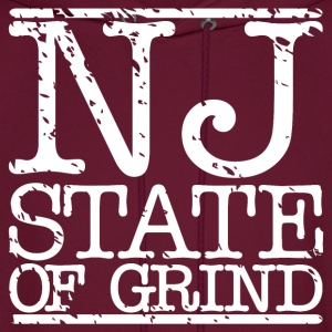 NJ STATE OF MIND - Men's Hoodie
