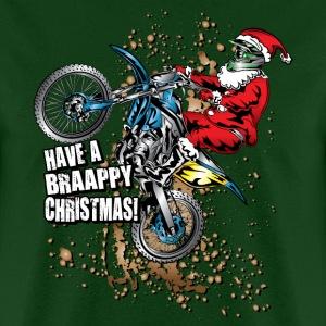 Braappy Santa Dirt Biker