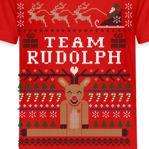 Rudolph Ugly Christmas Baby & Toddler Shirts - Toddler Premium T-Shirt