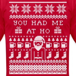 Ugly Christmas Sweater T-Shirts - Men's T-Shirt by American Apparel