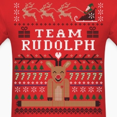 Rudolph Ugly Christmas T-Shirts