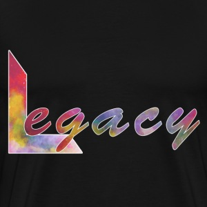 Legacy's (Big L) - Mens' Premium T-Shirt - Black - Men's Premium T-Shirt