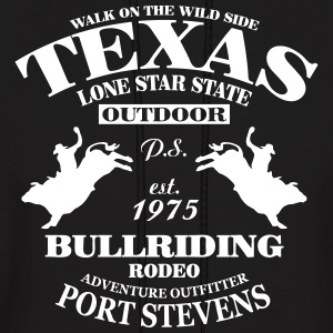 Texas Bullriding Rodeo - The Lone Star State Hoodies - Men's Hoodie