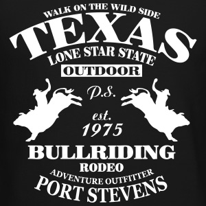 Texas Bullriding Rodeo - The Lone Star State Long Sleeve Shirts - Crewneck Sweatshirt