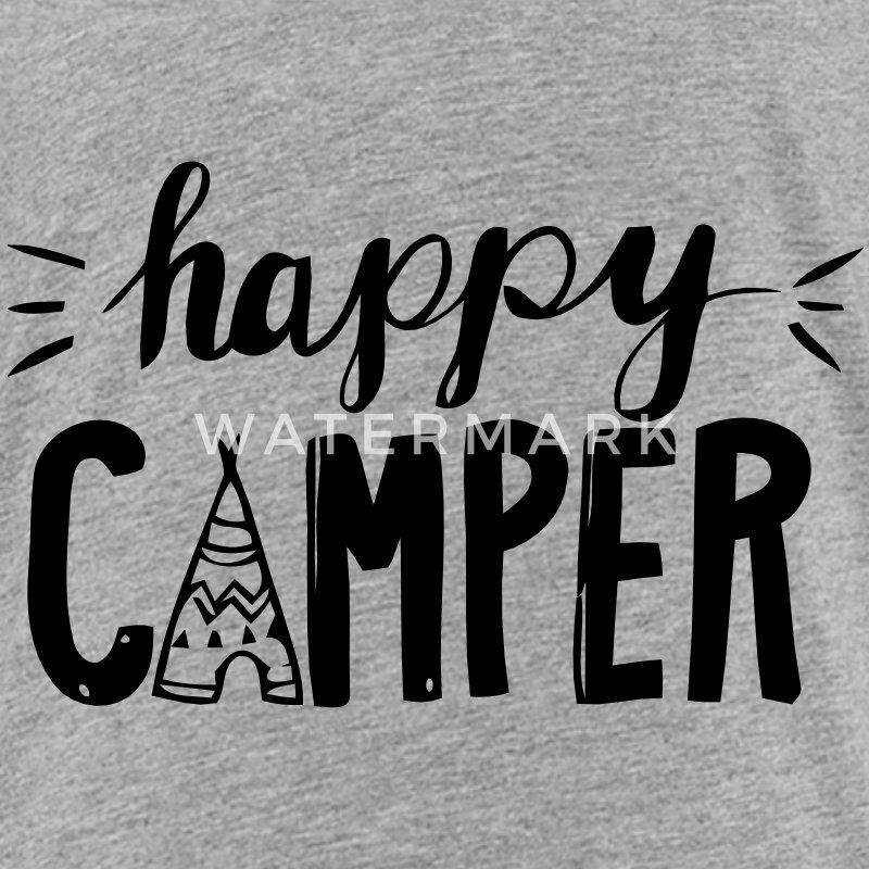 HAPPY CAMPER Baby & Toddler Shirts - Toddler Premium T-Shirt