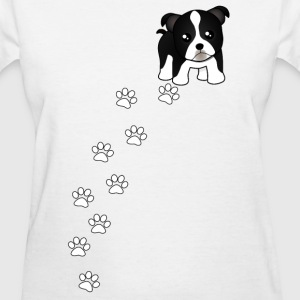 Boston Terrier Puppy Dog Women's T-Shirt - Women's T-Shirt