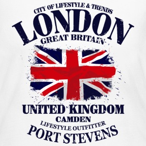 London - Union Jack - Vintage Look Long Sleeve Shirts - Women's Long Sleeve Jersey T-Shirt