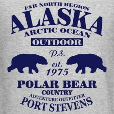 Alaska -  Polar Bear Country Long Sleeve Shirts