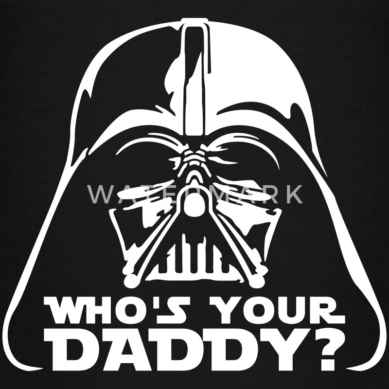who's your daddy vader Kids' Shirts - Kids' Premium T-Shirt