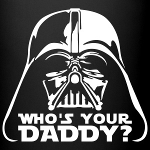 who's your daddy vader Mugs & Drinkware - Full Color Mug