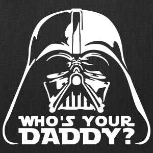 who's your daddy vader Bags & backpacks - Tote Bag