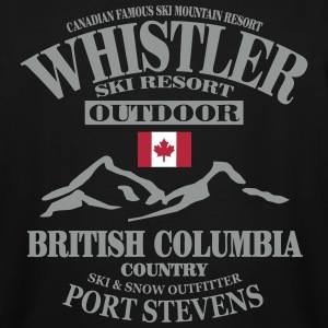 Whistler - Canada Ski Resort T-Shirts - Men's Tall T-Shirt