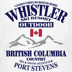 Whistler - Canada Ski Resort Long Sleeve Shirts - Women's Long Sleeve Jersey T-Shirt