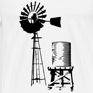 Windmill T-Shirts - Men's Premium T-Shirt