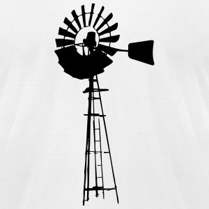 Windmill T-Shirts - Men's T-Shirt by American Apparel
