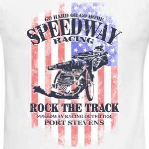 USA Speedway Racing T-Shirts - Men's Ringer T-Shirt