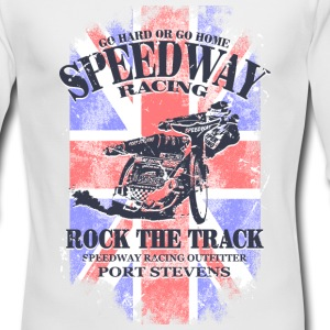UK Speedway Racing Long Sleeve Shirts - Men's Long Sleeve T-Shirt by Next Level