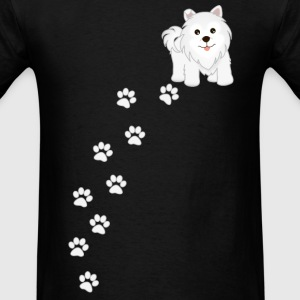 Samoyed Puppy Dog Men's T-Shirt - Men's T-Shirt