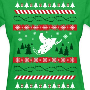 Ugly Christmas Snowmobile
