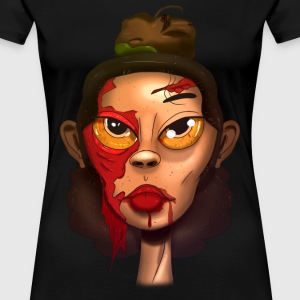 Zombie beauty  - Women's Premium T-Shirt