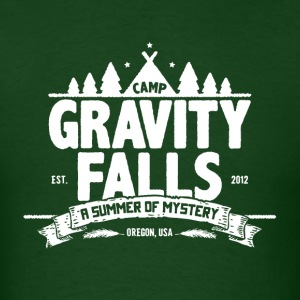 Camp Gravity Falls - Men's T-Shirt