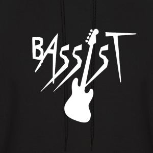 Bassist - Bass Guitar Player Hoodies - Men's Hoodie
