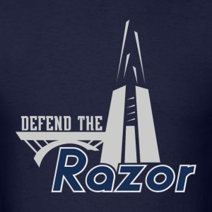 Defend The Razor - Men's T-Shirt