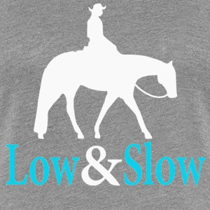 Quarter Horse - Low & Slow Women's T-Shirts - Women's Premium T-Shirt