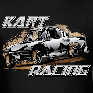 Modified JR2 Kart white T-Shirts - Men's T-Shirt