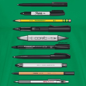 Pro Graphic Design Pens T-Shirts - Men's Premium T-Shirt