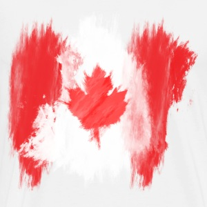 canada flag canadian T-Shirts - Men's Premium T-Shirt