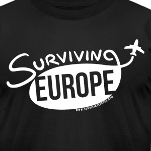Surviving Europe Men's American Apparel Logo T-Shi - Men's T-Shirt by American Apparel