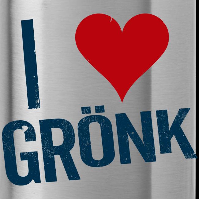 I Heart Gronk Water Bottle