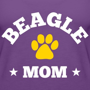 Beagle Mom Tanks - Women's Premium Tank Top