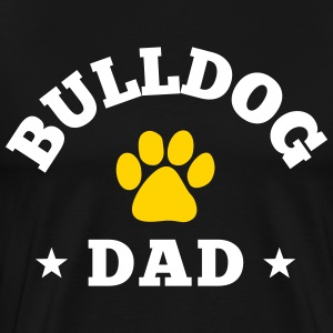 Bulldog Dad T-Shirts - Men's Premium T-Shirt