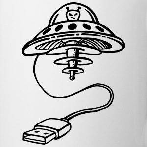 USB UFO Mugs & Drinkware - Coffee/Tea Mug