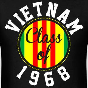 Vietnam Class Of 1968  - Men's T-Shirt
