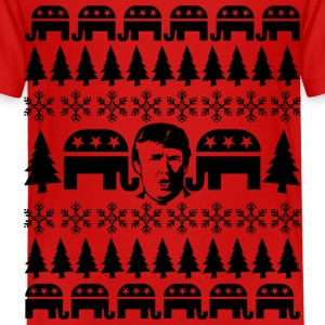 GOP Donald Christmas Sweater Baby & Toddler Shirts - Toddler Premium T-Shirt