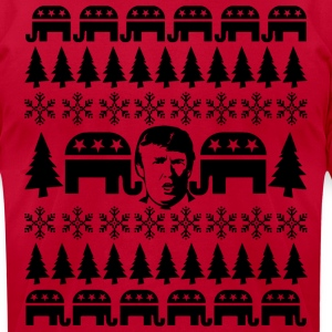 GOP Donald Christmas Sweater T-Shirts - Men's T-Shirt by American Apparel