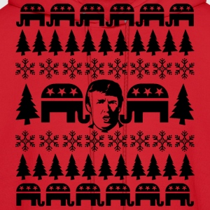 GOP Donald Christmas Sweater Hoodies - Men's Hoodie