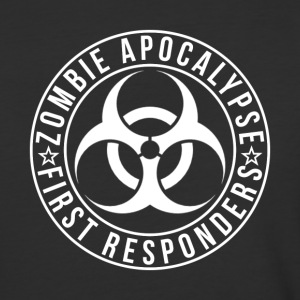 Zombie Apocalypse First Responders - Baseball T-Shirt