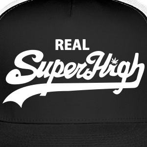 Real SuperHigh Trucker Hat wht/blk - Trucker Cap