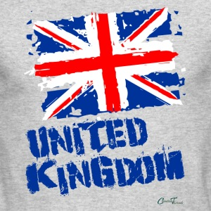 UK Flag Long Sleeve Shirts - Men's Long Sleeve T-Shirt by Next Level