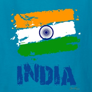 India Flag Kids' Shirts - Kids' T-Shirt