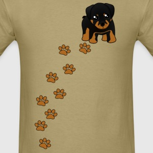 Rottweiler Puppy Dog T-Shirt - Men's T-Shirt