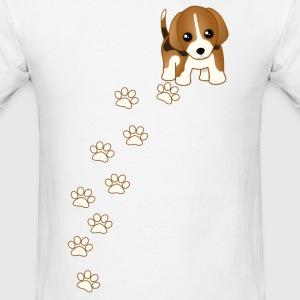 Beagle Puppy Dog T-Shirt - Men's T-Shirt